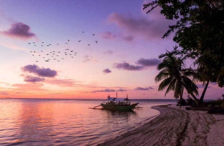filipiny plaża