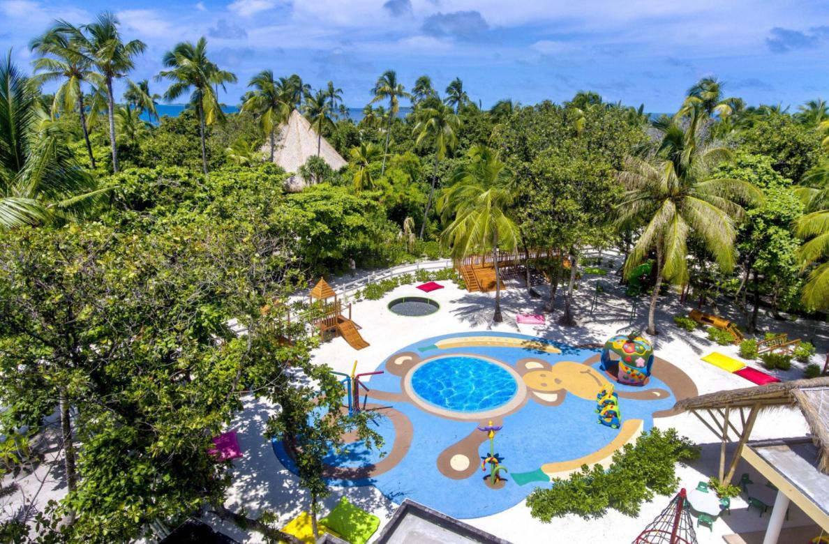 Najlepsze hotele dla dzieci na Malediwach