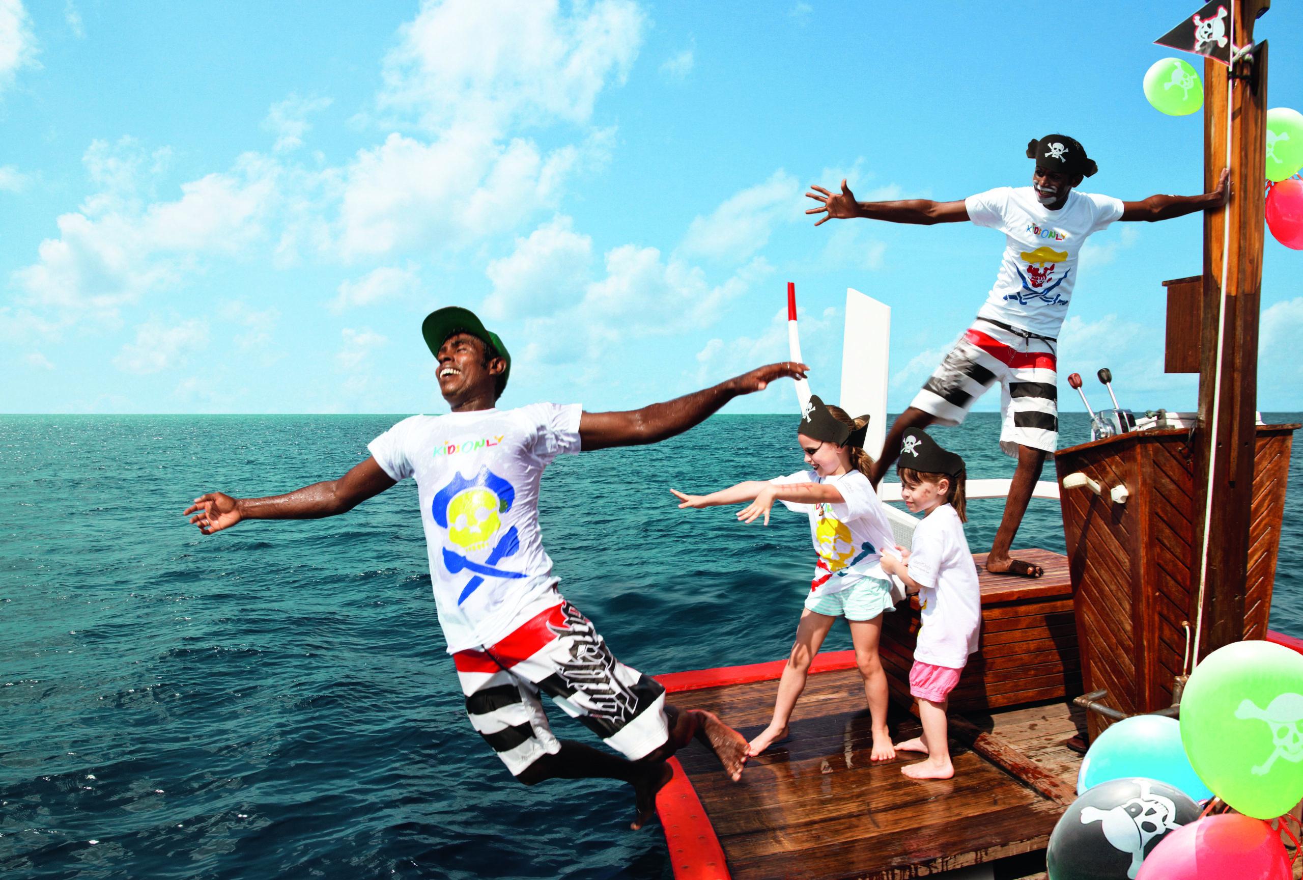 Najlepsze kids cluby na Malediwach