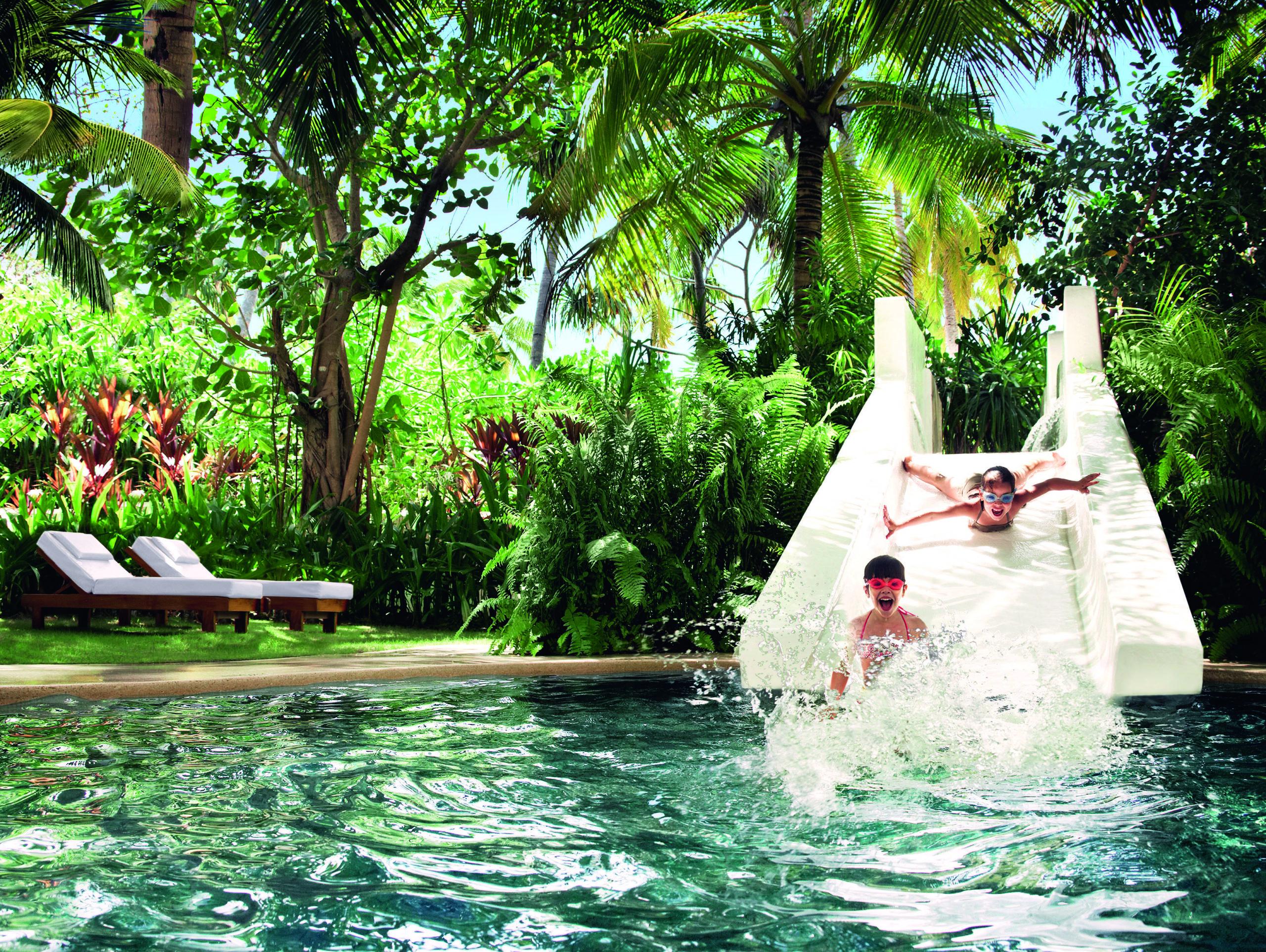 Idealne hotele dla rodzin z dziećmi na Malediwach