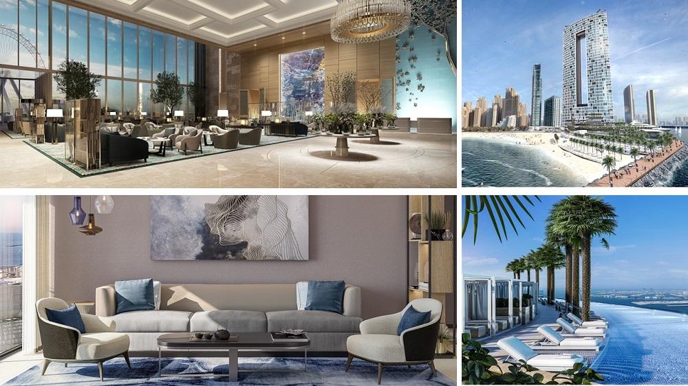 Nowe hotele w Dubaju hotel Address Beach Resort, Dubaj emiraty