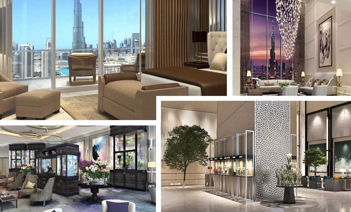 Nowe hotele w Dubaju hotel Address Fountain Views, Dubaj