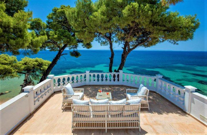 hotele z willami w grecji