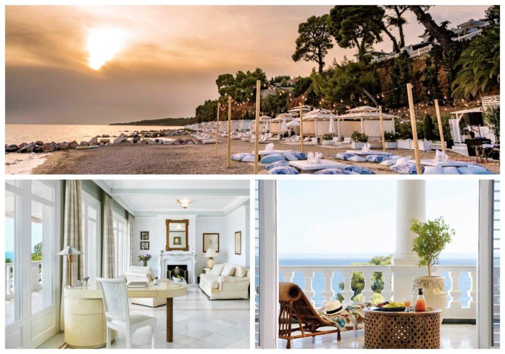 najlepsze hotele przy plaży w grecji