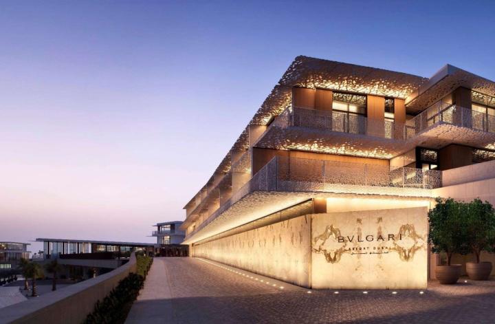 Bulgari Najlepsze hotele w Dubaju na plaży Jumeirah