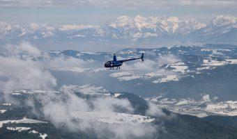 Helikopterem w Krainie Thora