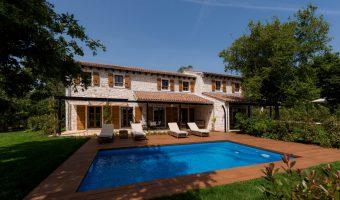 Luksusowe wille pośród winnic, Istria