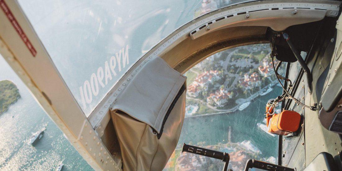 Jukatan VIP - prywatnym helikopterem