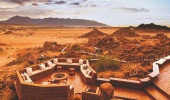 Namibia z lotu ptaka