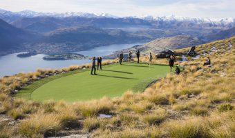 Golf w Nowej Zelandii