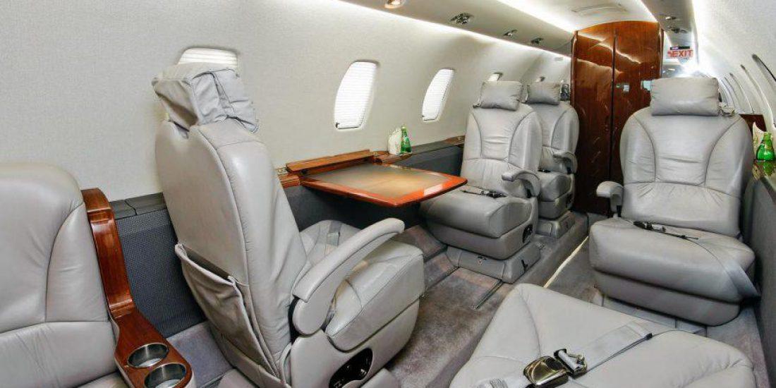 Czarter prywatnych samolotów