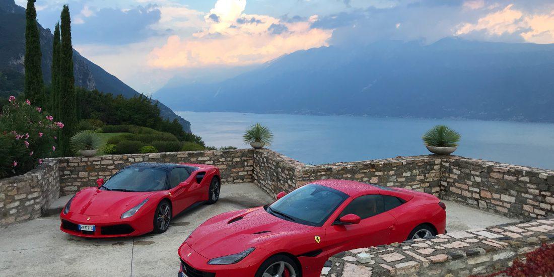 Włochy za szybą Ferrari
